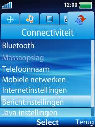 Sony Ericsson W100i Spiro - MMS - automatisch instellen - Stap 7