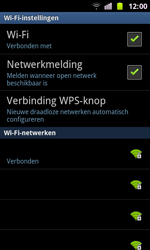 Samsung I8160 Galaxy Ace II - WiFi - Handmatig instellen - Stap 10