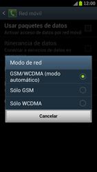 Samsung I9300 Galaxy S III - Red - Seleccionar el tipo de red - Paso 7