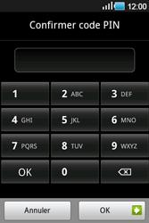 Samsung Galaxy Ace - Sécuriser votre mobile - Activer le code de verrouillage - Étape 10