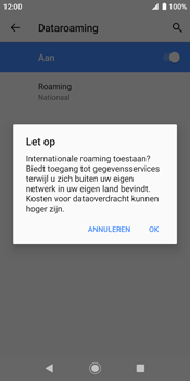 Sony xperia-xz2-h8216-android-pie - Buitenland - Internet in het buitenland - Stap 10