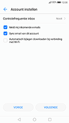 Huawei P8 Lite 2017 - E-mail - Handmatig instellen - Stap 19