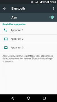 Acer Liquid Zest 4G Plus - Bluetooth - koppelen met ander apparaat - Stap 8