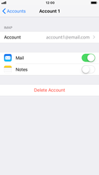 Apple iPhone 6 - iOS 12 - Email - Manual configuration IMAP without SMTP verification - Step 17