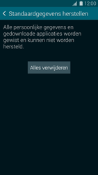 Samsung Galaxy S5 mini - Device maintenance - Terugkeren naar fabrieksinstellingen - Stap 8