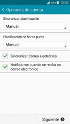 Samsung Galaxy A3 - E-mail - Configurar correo electrónico - Paso 17