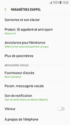 Samsung Galaxy J3 (2017) - Messagerie vocale - Configuration manuelle - Étape 6