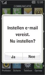 LG GD510 Pop - E-mail - Handmatig instellen - Stap 4