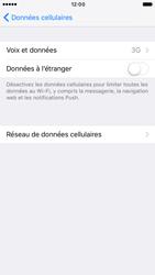 Apple iPhone 6s iOS 10 - Réseau - Activer 4G/LTE - Étape 5