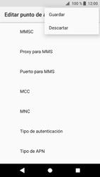 Sony Xperia XZ1 - Mensajería - Configurar el equipo para mensajes multimedia - Paso 15