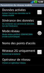 LG P970 Optimus Black - Internet - activer ou désactiver - Étape 6