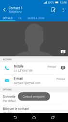 HTC One A9 - Contact, Appels, SMS/MMS - Ajouter un contact - Étape 13