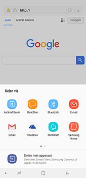Samsung Galaxy A8 Plus - Internet - hoe te internetten - Stap 20
