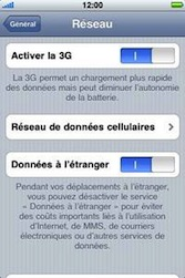 Apple iPhone 3G - Internet - Utilisation à l