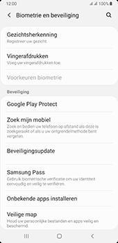 Samsung galaxy-a7-dual-sim-sm-a750fn-android-pie - Beveiliging en ouderlijk toezicht - Zoek mijn mobiel inschakelen - Stap 5