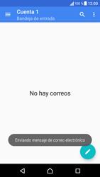 Sony Xperia X - E-mail - Escribir y enviar un correo electrónico - Paso 17