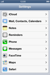 Apple iPhone 4 S - E-mail - Manual configuration IMAP without SMTP verification - Step 4