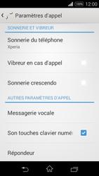 Sony Xperia E3 - Messagerie vocale - configuration manuelle - Étape 6