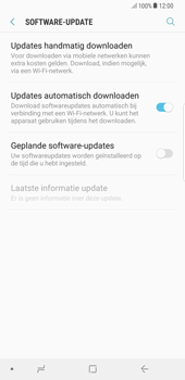 Samsung Galaxy Note 8 - Android Oreo - Software update - update installeren zonder PC - Stap 5
