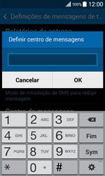 Samsung Galaxy Core II - SMS - Como configurar o centro de mensagens -  8