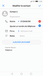 Huawei P10 - Contact, Appels, SMS/MMS - Ajouter un contact - Étape 7