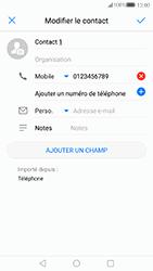 Huawei P10 Lite - Contact, Appels, SMS/MMS - Ajouter un contact - Étape 8
