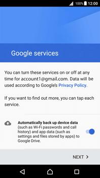 Sony Xperia Z5 Premium (E6853) - Android Nougat - E-mail - Manual configuration (gmail) - Step 14
