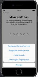Apple iPhone 6s met iOS 11 (Model A1688) - Instellingen aanpassen - Activeer het toestel en herstel jouw iCloud-data - Stap 14