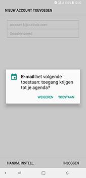 Samsung Galaxy A8 Plus - E-mail - handmatig instellen (outlook) - Stap 11