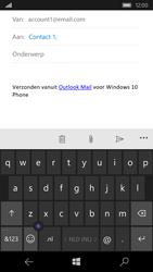 Microsoft Lumia 550 - E-mail - E-mail versturen - Stap 7