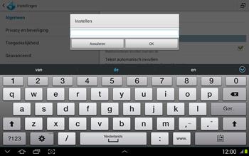 Samsung N8020 Galaxy Note 10-1 LTE - Internet - Handmatig instellen - Stap 21
