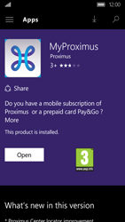 Acer Liquid M330 - Applications - MyProximus - Step 7