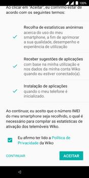 Wiko View Dual SIM - Primeiros passos - Como ligar o telemóvel pela primeira vez -  21