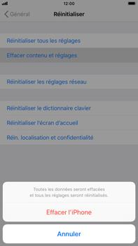 Apple iPhone 6s Plus - iOS 12 - Appareil - Réinitialisation de la configuration d