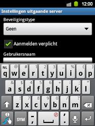 Samsung S5360 Galaxy Y - E-mail - e-mail instellen: IMAP (aanbevolen) - Stap 14