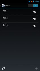 Wiko Stairway - WiFi - Conectarse a una red WiFi - Paso 6