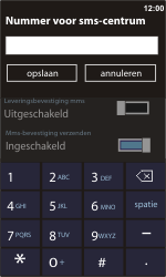 Nokia Lumia 900 - SMS - Handmatig instellen - Stap 6