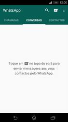 Sony Xperia M2 - Aplicações - Como configurar o WhatsApp -  11