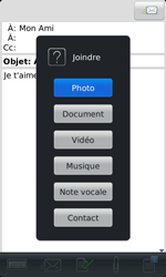 BlackBerry 9860 Torch - E-mail - Envoi d