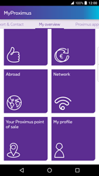 BlackBerry DTEK 50 - Applications - MyProximus - Step 17