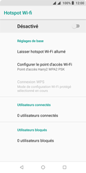 Wiko Harry 2 - Internet - comment configurer un point d'accès mobile - Étape 10