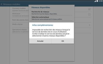 Samsung T535 Galaxy Tab 4 10-1 - Réseau - Utilisation à l