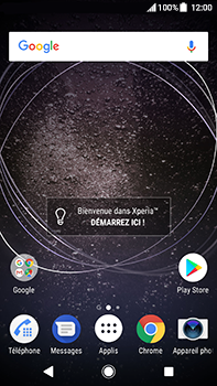 Sony Xperia XA2 Ultra - Messagerie vocale - configuration manuelle - Étape 1
