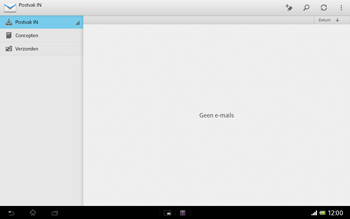 Sony SGP321 Xperia Tablet Z LTE - E-mail - hoe te versturen - Stap 4