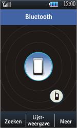 Samsung S5620 Monte - Bluetooth - headset, carkit verbinding - Stap 5