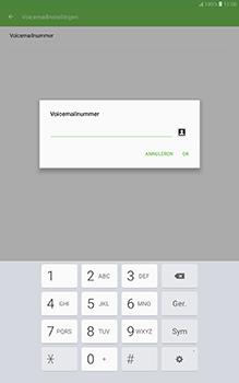 Samsung Galaxy Tab A 10.1 (SM-T585) - Voicemail - Handmatig instellen - Stap 9