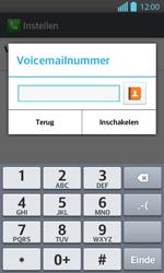 LG P710 Optimus L7 II - Voicemail - Handmatig instellen - Stap 8