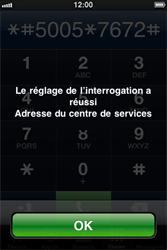Apple iPhone 4 - SMS - Configuration manuelle - Étape 5