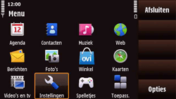 Nokia N97 Mini - MMS - handmatig instellen - Stap 4
