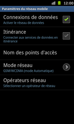 Samsung I9070 Galaxy S Advance - Internet - configuration manuelle - Étape 7